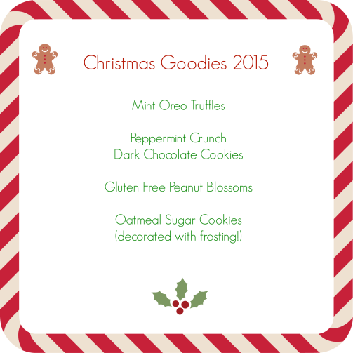 Christmas Goodies 2015
